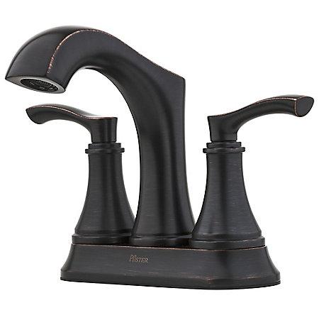 Tuscan Bronze Auden Centerset Bath Faucet - LF-048-ADYY - 1