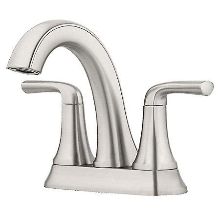 Spot Defense Brushed Nickel Ladera Centerset Bath Faucet - LF-048-LRGS - 1