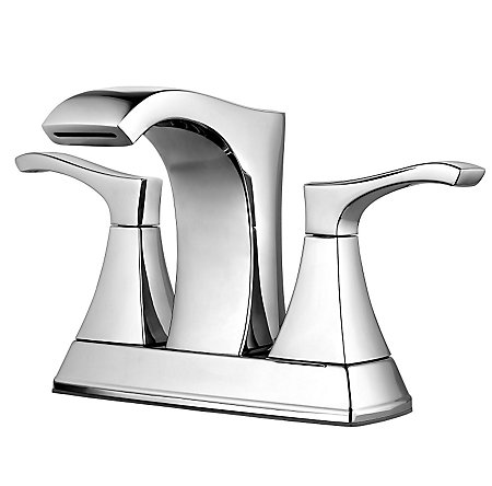 Polished Chrome Venturi Centerset Bath Faucet - LF-048-VNCC - 1