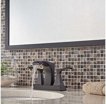 Tuscan Bronze Venturi Centerset Bath Faucet - LF-048-VNYY - 3