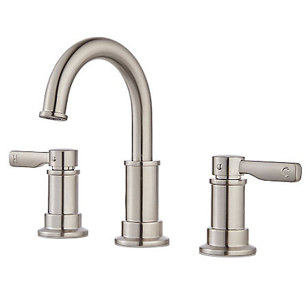 Brushed Nickel Breckenridge Widespread Bath Faucet - LF-049-BCKK - 1