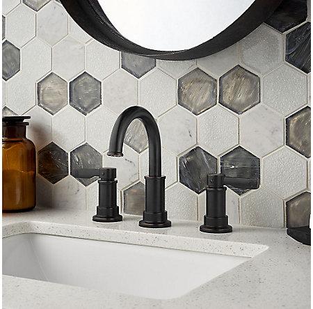 Tuscan Bronze Breckenridge Widespread Bath Faucet - LF-049-BCYY - 2