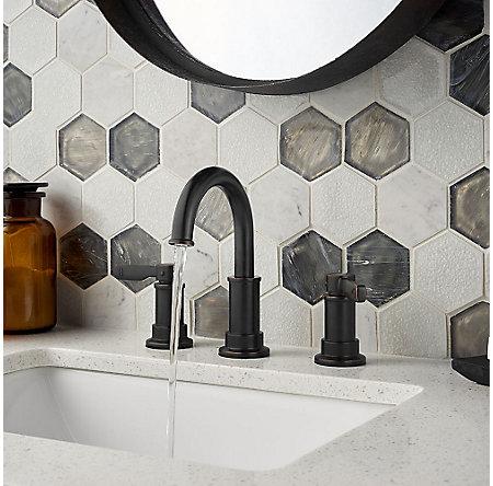 Tuscan Bronze Breckenridge Widespread Bath Faucet - LF-049-BCYY - 3
