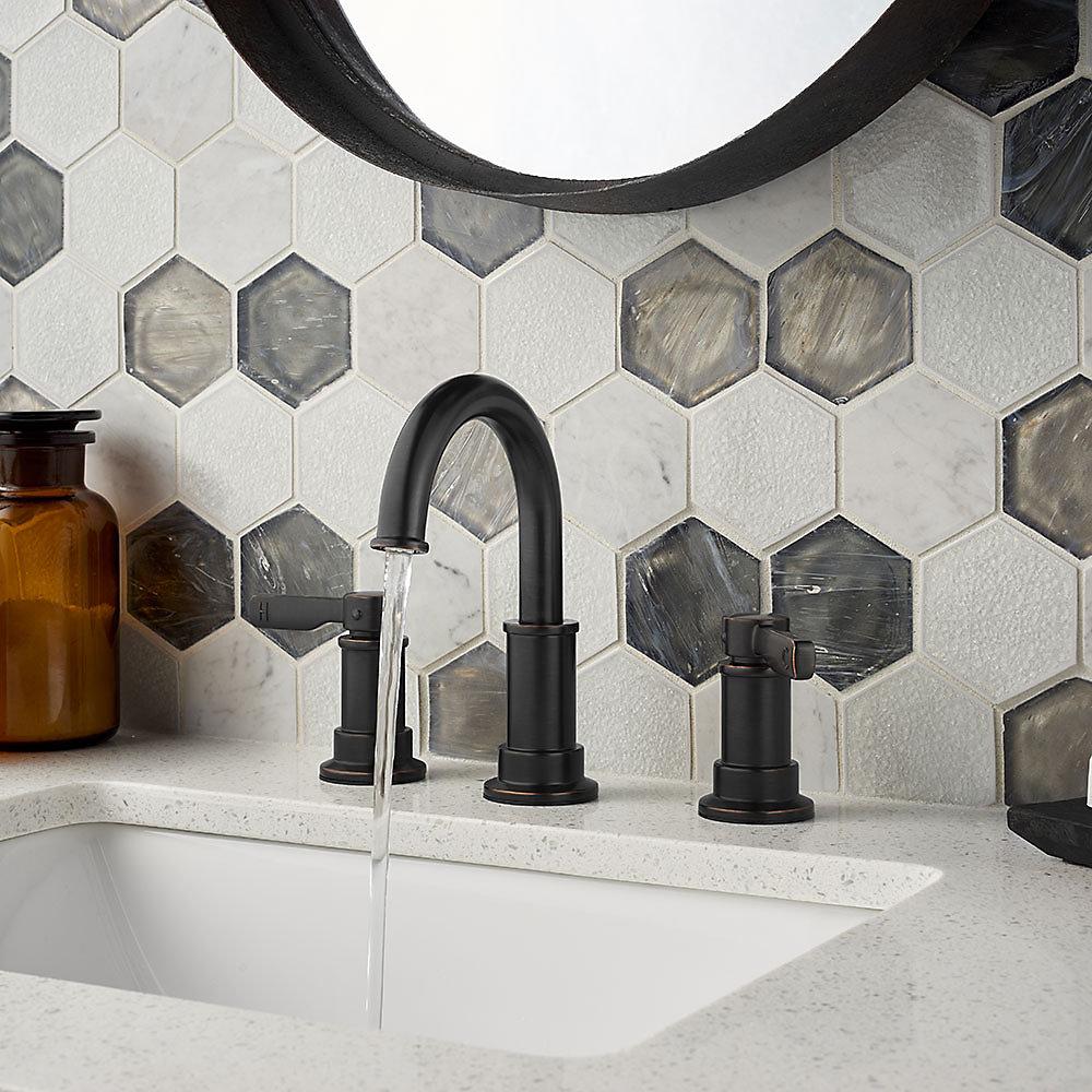 Tuscan Bronze Breckenridge Widespread Bath Faucet - LF-049-BCYY ...