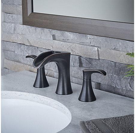 Tuscan Bronze Brea Widespread Bath Faucet - LF-049-BRYY - 2
