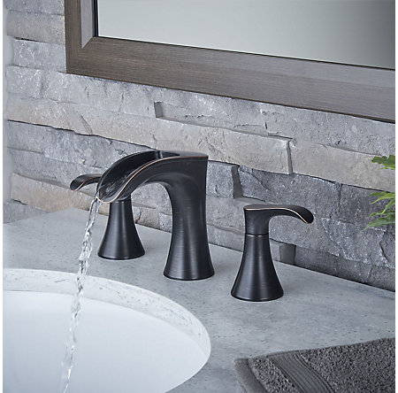 Tuscan Bronze Brea Widespread Bath Faucet - LF-049-BRYY - 3