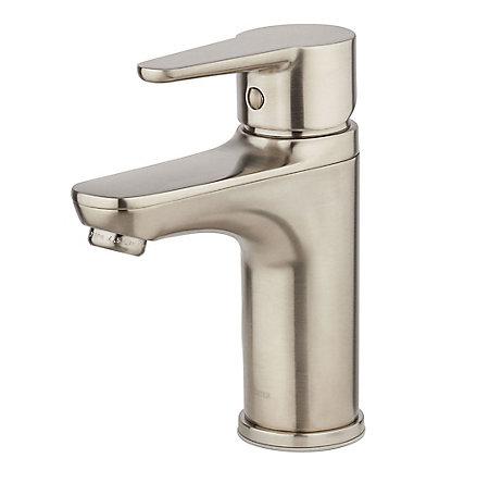 Brushed Nickel Pfirst Modern Single Control Bath Faucet - LG142-060K - 1