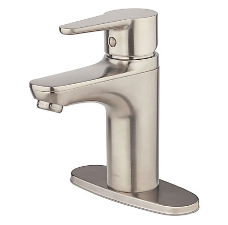Brushed Nickel Pfirst Modern Single Control Bath Faucet - LG142-060K - 2