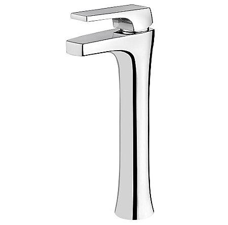 Polished Chrome Kelen Single Handle Vessel Faucet - LG40-MF0C - 1