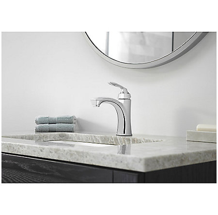 Polished Chrome Avalon Single Control Bath Faucet - LG42-CB1C - 2