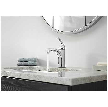 Polished Chrome Avalon Single Control Bath Faucet - LG42-CB1C - 3