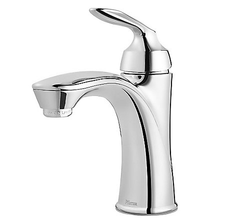 Polished Chrome Avalon Single Control Bath Faucet - LG42-CB1C - 1
