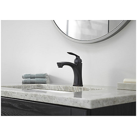 Tuscan Bronze Avalon Single Control Bath Faucet - LG42-CB1Y - 2