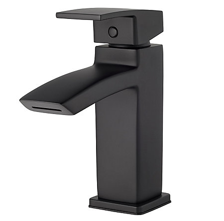 Black Kenzo Single Control Bath Faucet - LG42-DF1B - 1