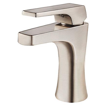 Brushed Nickel Kelen Single Control Bath Faucet - LG42-MF0K - 1