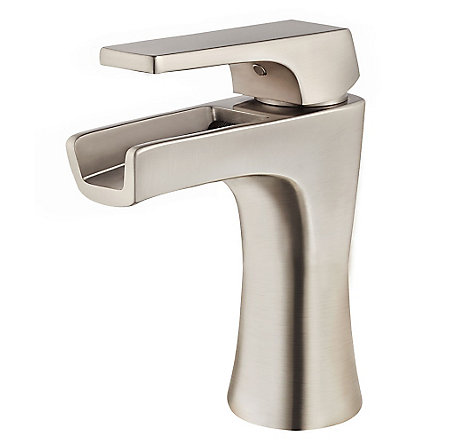 Brushed Nickel Kelen Single Control Trough Bath Faucet - LG42-MF1K - 1