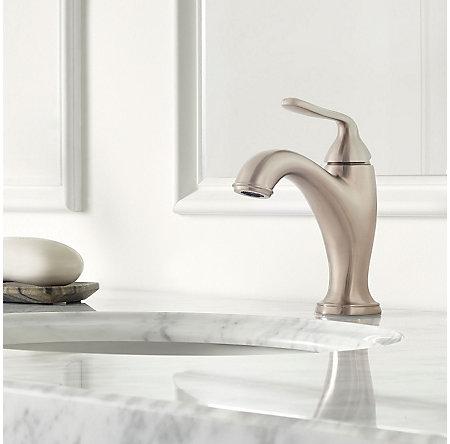 Brushed Nickel Northcott Single Control Bath Faucet - LG42-MG0K - 2
