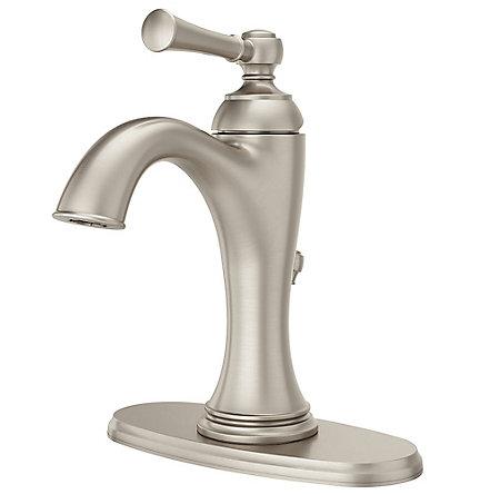 Brushed Nickel Tisbury Single Control Bath Faucet - LG42-TB0K - 2