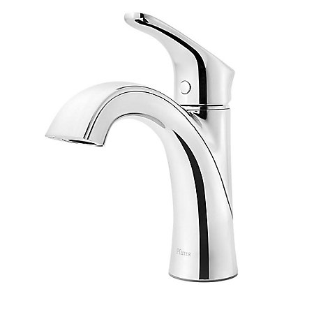 Polished Chrome Weller Single Control Bath Faucet - LG42-WR0C - 1