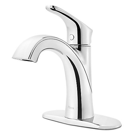 Polished Chrome Weller Single Control Bath Faucet - LG42-WR0C - 2