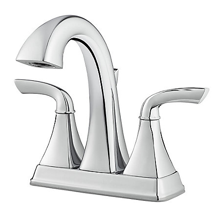 Polished Chrome Bronson Centerset Bath Faucet - LG48-BS0C - 1