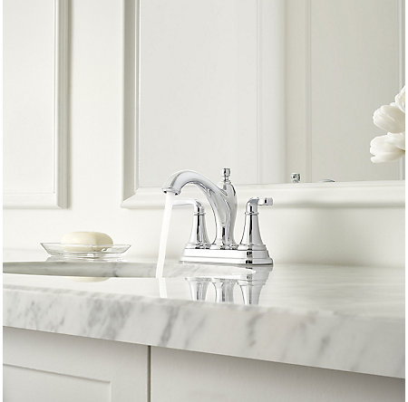 Polished Chrome Northcott Centerset Bath Faucet - LG48-MG0C - 3