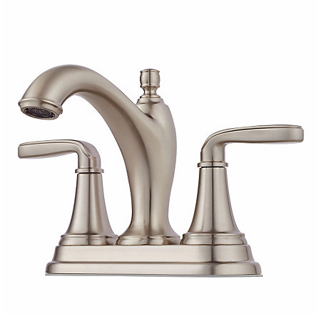 Brushed Nickel Northcott Centerset Bath Faucet - LG48-MG0K - 1