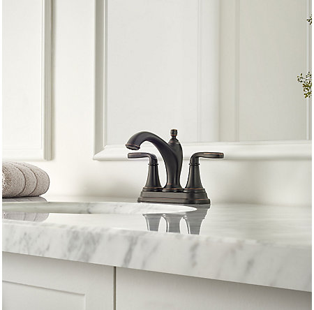 Tuscan Bronze Northcott Centerset Bath Faucet - LG48-MG0Y - 2