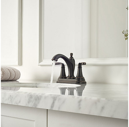 Tuscan Bronze Northcott Centerset Bath Faucet - LG48-MG0Y - 3