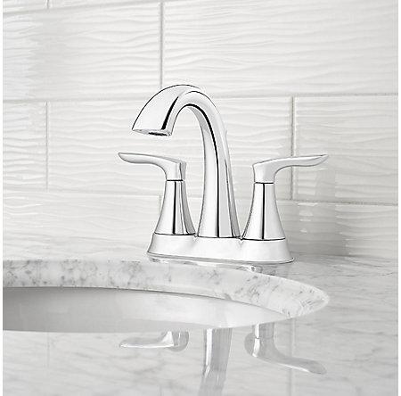 Polished Chrome Weller Centerset Bath Faucet - LG48-WR0C - 2