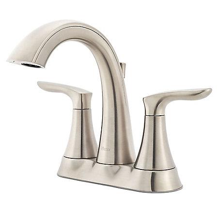 Brushed Nickel Weller Centerset Bath Faucet - LG48-WR0K - 1