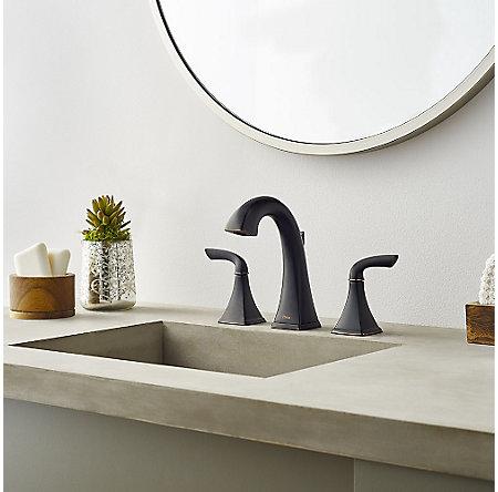 Tuscan Bronze Bronson Widespread Bath Faucet - LG49-BS0Y - 2