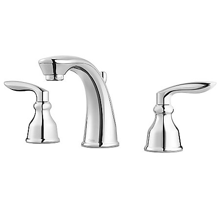 Polished Chrome Avalon Widespread Lavatory Faucet - LG49-CB1C - 1