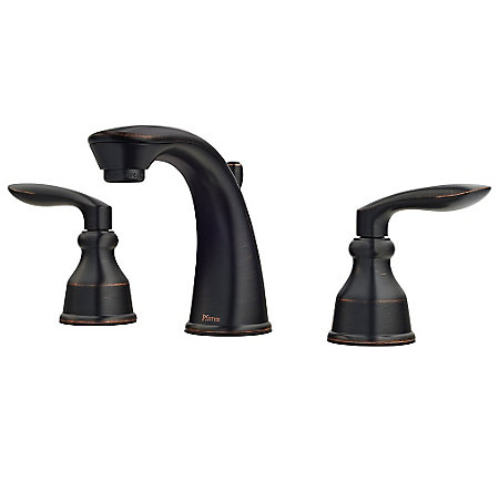 Tuscan Bronze Avalon Widespread Lavatory Faucet - LG49-CB1Y - 1