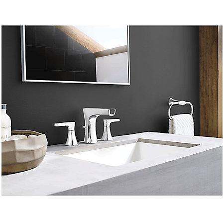 Polished Chrome Kelen Widespread Trough Bath Faucet - LG49-MF1C - 2