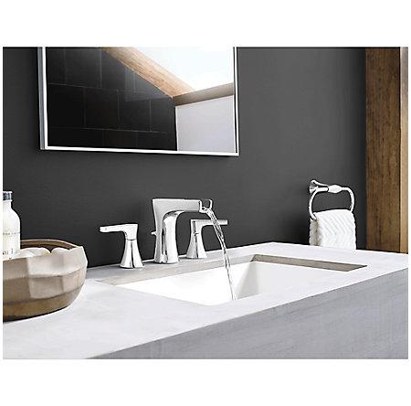 Polished Chrome Kelen Widespread Trough Bath Faucet - LG49-MF1C - 3