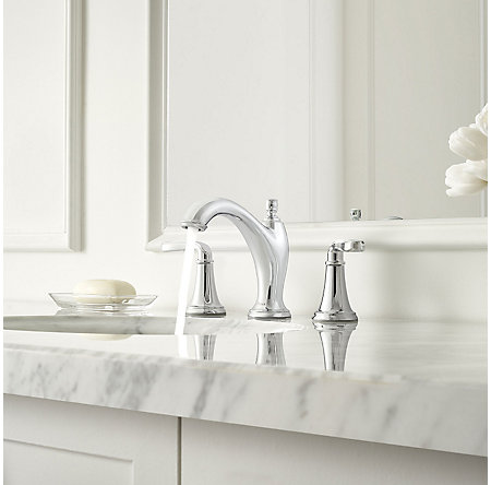 Polished Chrome Northcott Widespread Bath Faucet - LG49-MG0C - 3