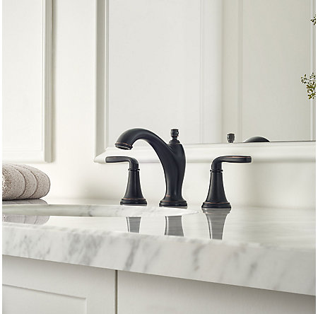 Tuscan Bronze Northcott Widespread Bath Faucet - LG49-MG0Y - 2