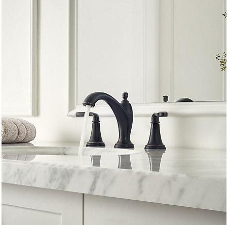 Tuscan Bronze Northcott Widespread Bath Faucet - LG49-MG0Y - 3