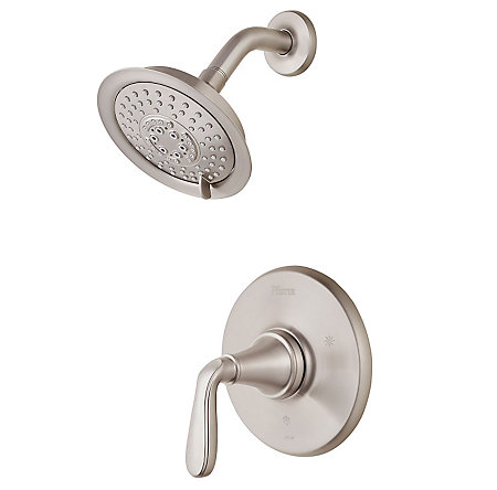 Brushed Nickel Northcott 1-Handle Shower, Trim Only - LG89-7MGK - 1