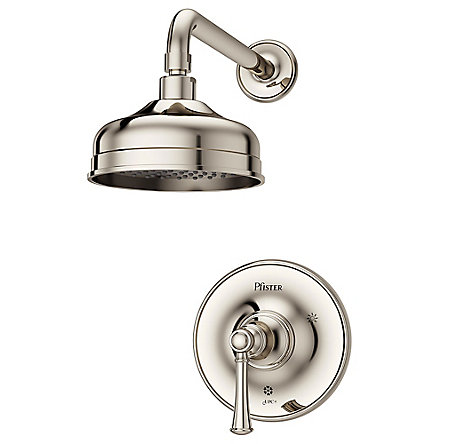 Polished Nickel Tisbury 1-Handle Shower, Trim Only - LG89-7TBD - 1