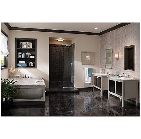 Polished Chrome Park Avenue Widespread Bath Faucet - LG49-FE0C - 3