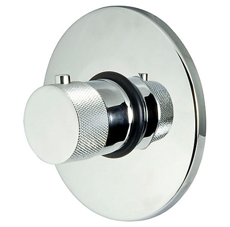 "Polished Chrome 3/4"" Thermostatic Trim - R78-9VUC - 1"