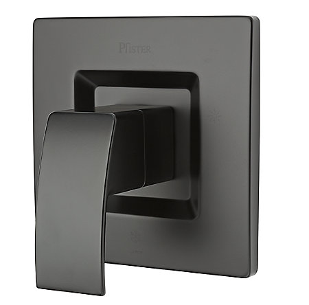 Black Kenzo Tub & Shower Valve Only Trim - R89-1DFB - 1