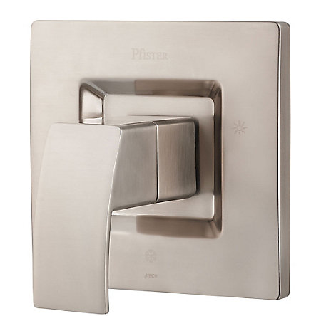 Brushed Nickel Kenzo Tub & Shower Valve Only Trim - R89-1DFK - 1