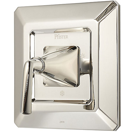 Polished Nickel Park Avenue Valve, Trim Only - R89-1FED - 1