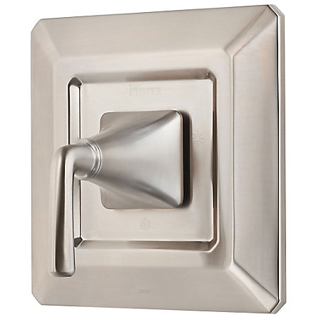 Brushed Nickel Park Avenue Valve, Trim Only - R89-1FEK - 1