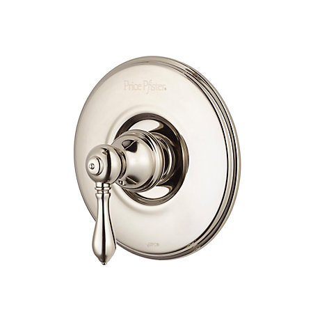 polished nickel marielle tub & shower valve only trim - r89-1mbd - 1