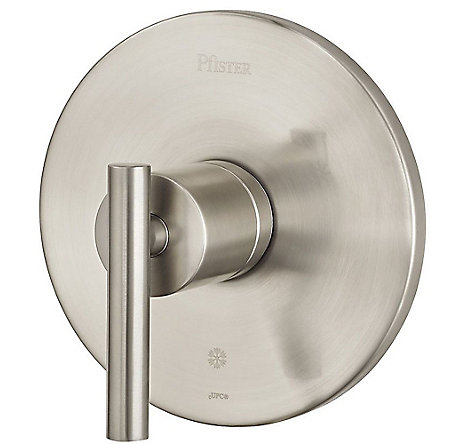 Brushed Nickel Contempra Valve, Trim Only - R89-1NCK - 1