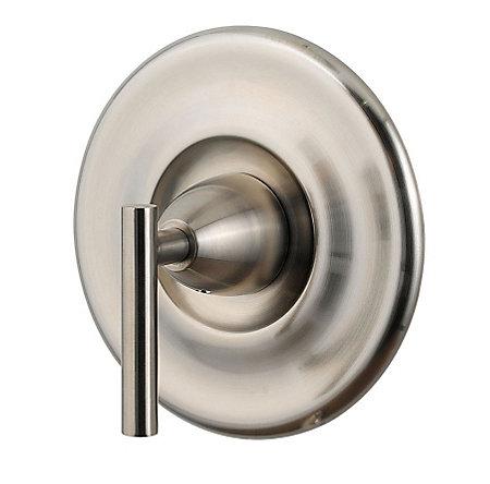 Brushed Nickel Contempra Tub & Shower Valve Only Trim - R89-1NK0 - 1